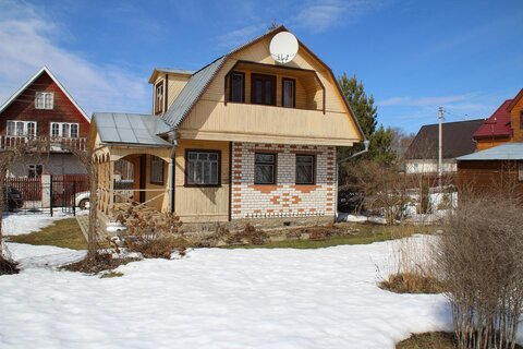 Продается кирпичная дом - дача с баней на участке 10 соток - Фото 3