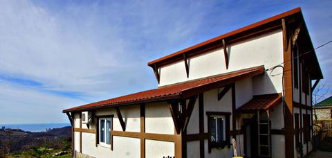 Дом в стиле шале в Раздольном - Фото 2