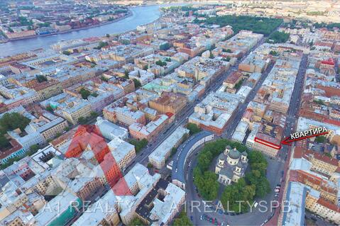 Элитная квартира с видом на Преображенскую площадь! - Фото 1