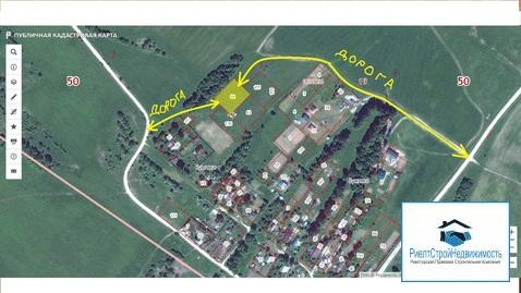 Участок в деревне 20 соток рядом с водохранилищем - Фото 1