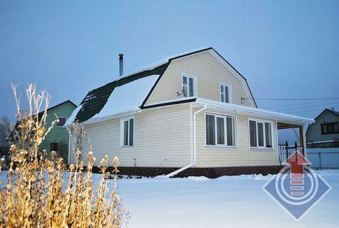 Кирпичная дача 132,6 м2 на 12 сотках в СНТ Лайнер у д. Порядино - Фото 2