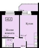 Продам 1 комнат. квартиру - Фото 2