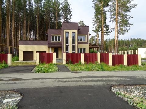 Сысерть, кп Европа, новый кирпичный дом 271 кв.м. + 20 соток с лесом - Фото 1
