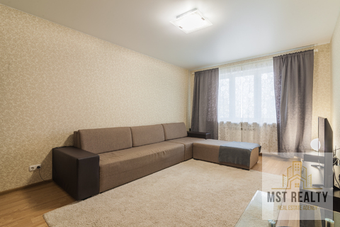 Однокомнатная квартира в центре Видного - Фото 1