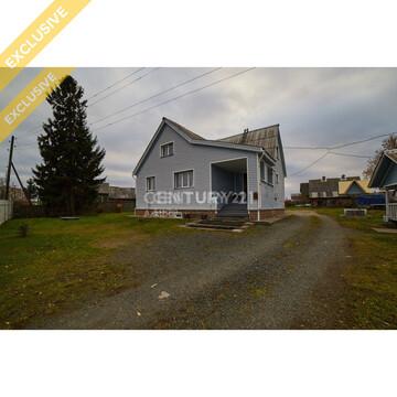 Продажа дома 165 м кв. на участке 21 соток в п. Новая Вилга - Фото 1