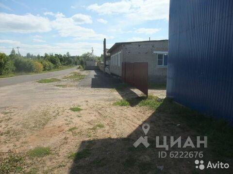 Продажа склада, Любытинский район - Фото 1