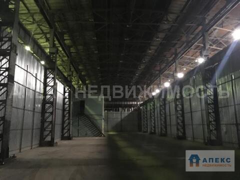 Аренда помещения пл. 1072 м2 под склад, м. Авиамоторная в складском . - Фото 1