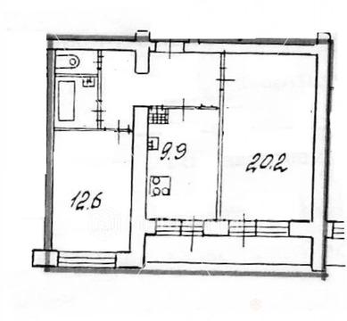 Объявление №54553594: Продаю 2 комн. квартиру. Санкт-Петербург, ул. Софийская, 30, к 2,