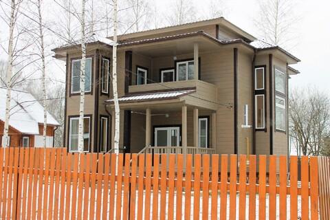 Дом 250 м2 с Газом, Прописка, д.Новожилово - Фото 1
