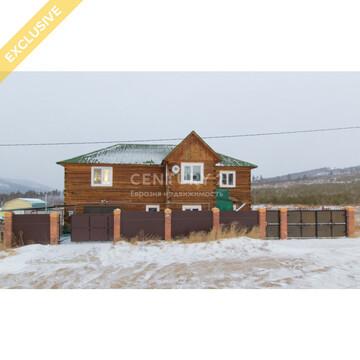 Отличный коттедж на В.Березовке, Купить дом в Улан-Удэ, ID объекта - 504570602 - Фото 1