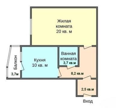 Продается 1-комнатная квартира Герасима Курина д. 18 - Фото 1