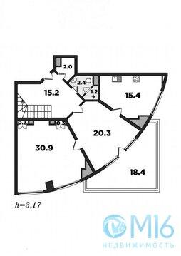 Трехуровневая квартира с эксклюзивным видом - Фото 4