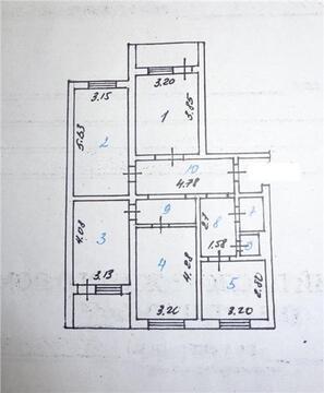 Продажа 4-комнатной квартиры по ул.Агошковауб (ном. . - Фото 1