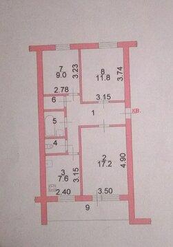 Продам 3-х комнатную квартиру, Магистральный проезд, 21, 2/5 эт, кирпи - Фото 5