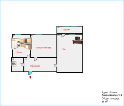 Купить квартиру улучшенной планировки в 14 Мкр. - Фото 5