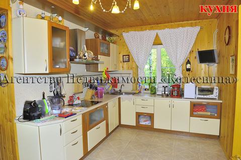 Ворсино. Меблированный дом с отдельнстоящ. гостевым домом-баней в лесу - Фото 4