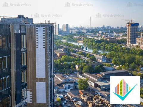 Апартаменты в Фили град-2 с видом на Моска-реку, Купить квартиру в новостройке от застройщика в Москве, ID объекта - 316895152 - Фото 1