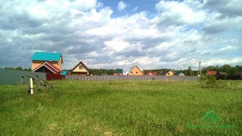 12 соток в дер.Храпки - ИЖС - 85 км Щёлковское шоссе - Фото 1