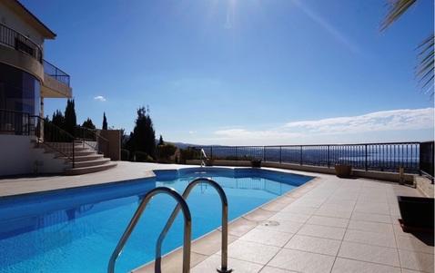 Шикарная 3-спальная Вилла с панорамным видом на море в районе Пафоса - Фото 4