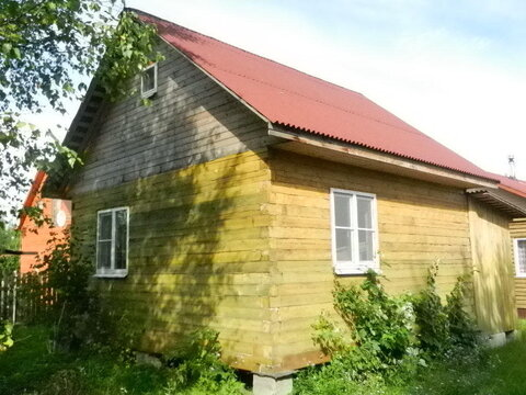 Массив Рубеж. Новый садовый дом из бруса пл. 73 кв.м. с гостевым домом - Фото 1