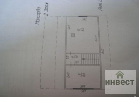 Продается 2х этажная дача 94 кв.м. на участке 6 соток , д. Шапкино - Фото 5