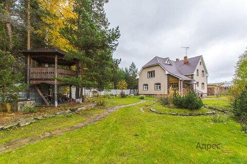 Коттедж поселке Балтым на участке 20 соток с прекрасным ландшафтом - Фото 2