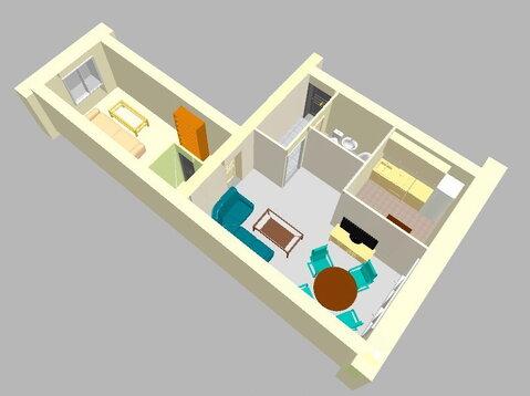 Продам 2х-комн.квартиру 43.1кв.м в центре. Крисанова 20а - Фото 1