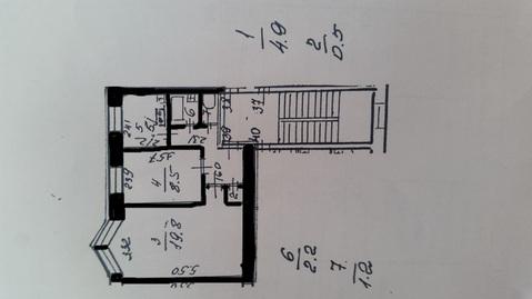 Продается видовая комфортная 2-комнатная квартира для жизни. - Фото 1