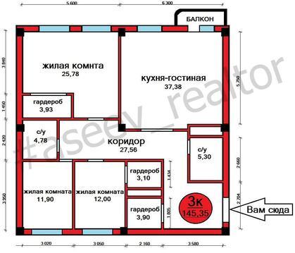 Квартира в Александровском парке по выгодной цене - Фото 3