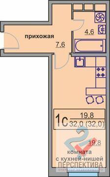 Продаётся 1-комнатная квартира общей площадью 32 кв.м. - Фото 2
