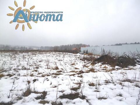 Продается участок 26 соток в заповеднике «Барсуки» деревне Тростье - Фото 1