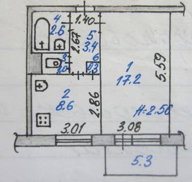 1-комнатная квартира улучшенной планировки - Фото 5