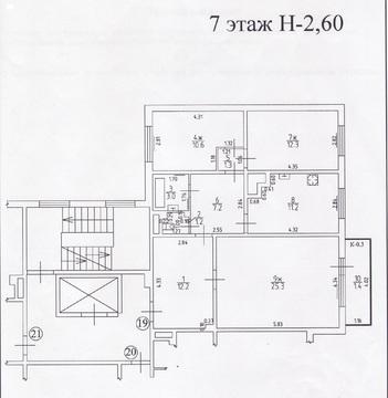 3-комнатная квартира Челнокова ул.