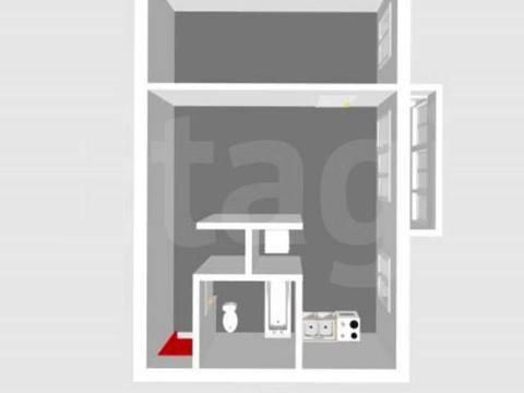 Продажа двухкомнатной квартиры на улице Кочетова, 24а в Стерлитамаке, Купить квартиру в Стерлитамаке по недорогой цене, ID объекта - 320177706 - Фото 1