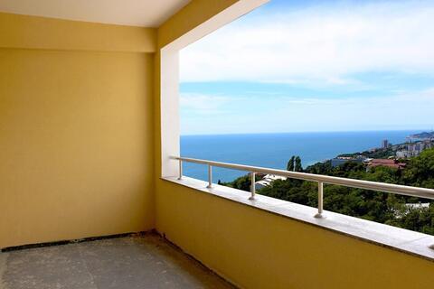 Видовая двухкомнатная, прямой вид на море, закрытый комплекс - Фото 4