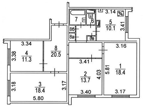Продажа квартиры, м. Алтуфьево, Алтуфьевсоке шоссе - Фото 3