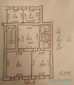 Продается 3 ком. квартира с камином и видом на Неву, Ждановская наб. 7 - Фото 2