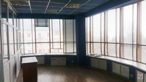 Офис в престижном бизнес центре 92 кв.м. с панорамными окнами - Фото 1
