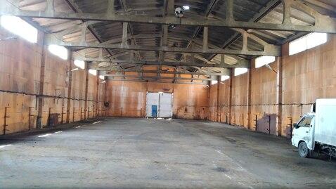 Производственно-складское помещение с высоким потолком. - Фото 1