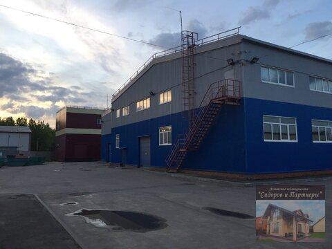 Производственнно-складской комплекс с земельным участком - Фото 4