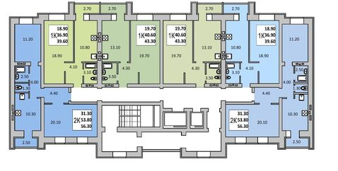 Новая квартира, 2 комнаты, центр Заводского района, Орджоникидзе, д. 2 - Фото 2