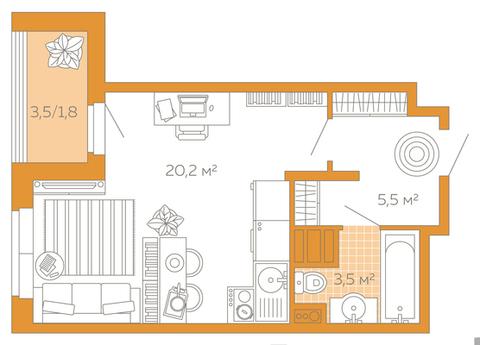 Отличная квартира в продаже - Фото 1