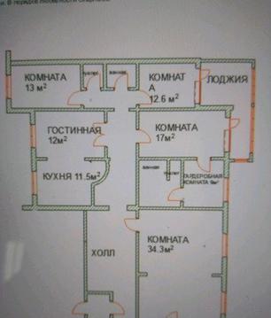 4-к квартира, 149 м, 7/10 эт. Северо-Крымская, 68 - Фото 1
