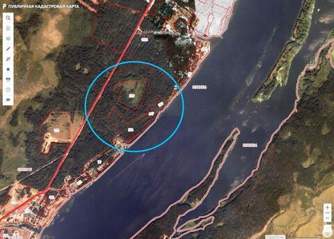 Земельный участок 17га под строительство на берегу Волги - Фото 3