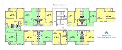 Продается квартира Краснодарский край, г Сочи, ул Армавирская, д 1 - Фото 4