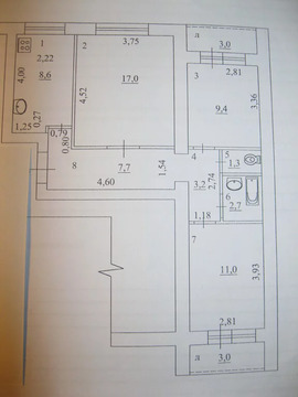 Объявление №51204093: Продаю 3 комн. квартиру. Самара, ул. Енисейская, 37,