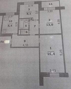 Объявление №54213628: Продаю 3 комн. квартиру. Белгород, ул. Щорса, дом 36,
