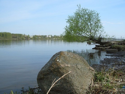 Участок на 1 линии р. Волга, г. Кимры, под строительство таунхаус. - Фото 1