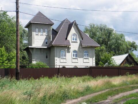 Дом - замок с озером, за Красным Яром, п. Линевый. Самарская область - Фото 1