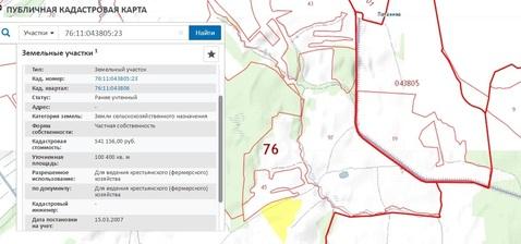 31,5 га кфх в Переславле-Залесском, вблизи д. Потанино - Фото 3